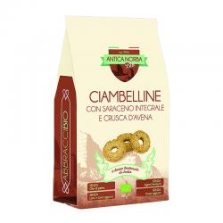 Ciambelline con Saraceno Integrale e Crusca d'Avena