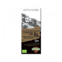 Tavoletta di Cioccolato Extra Fondente 81% con Cacao del...
