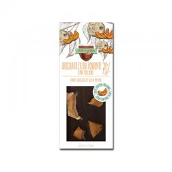 Tavoletta di Cioccolato Extra Fondente 70% con Melone