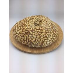 Pane di Semola di Duro Cappelli con Fiocchi d'Avena